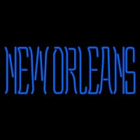 New Orleans Privateers Wordmark Pres Logo NCAA Neon Sign Neon Sign