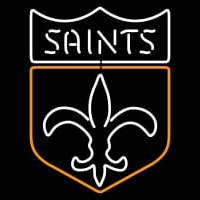 New Orleans Saints Alternate   Logo NFL Neon Sign Neon Sign