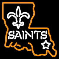 New Orleans Saints Alternate  Pres Logo NFL Neon Sign Neon Sign