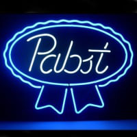 New Pabst Blue Ribbon Lager Ale Neon Sign