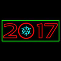 New Year Christmas Ball Neon Sign