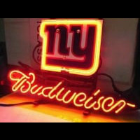 New York Giants Football Budweiser Neon Light Sign Neon Sign