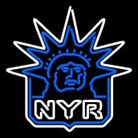 New York Rangers Alternate Logo Nhl Neon Sign Neon Sign