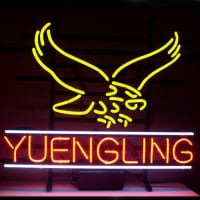 New Yuengling Lager Eagle Neon Sign