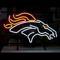 Nfl Denver Broncos Neon Sign With Free Priority Neon Sign