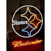 Nfl Pittsburgh Steelers Budweiser Neon Sign Neon Sign