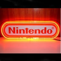 Nintendo Red Neon Sign