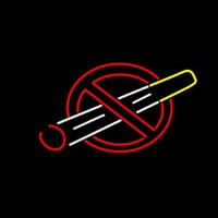 No Smoking Bar Neon Sign