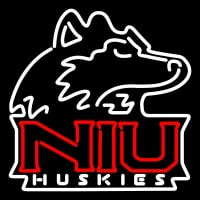 Northern Illinois Huskies Primary Pres Logo NCAA Neon Sign Neon Sign