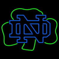 Notre Dame Fighting Irish Alternate Logo NCAA Neon Sign Neon Sign