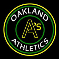 Oakland Athletics MLB Neon Sign Neon Sign
