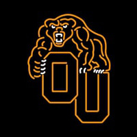 Oakland Golden Grizzlies Primary 2004 Pres Logo NCAA Neon Sign Neon Sign