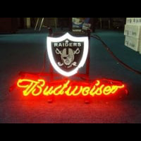 Oakland Raiders Footballneon Sign Neon Sign