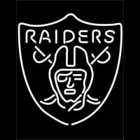 Oakland Raiders NFL Neon Sign Neon Sign