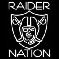 Oakland Raiders Nfl Raider Nation Real Neon Glass Tube Neon Sign Neon Sign