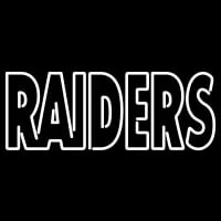 Oakland Raiders Wordmark   Logo NFL Neon Sign Neon Sign