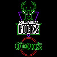 Odouls Milwaukee Bucks NBA Beer Sign Neon Sign