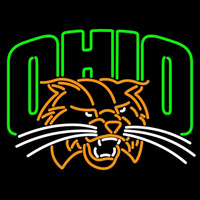 Ohio Bobcats Primary 1999 Pres Logo NCAA Neon Sign Neon Sign
