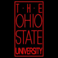 Ohio State University Logo Neon Sign Neon Sign