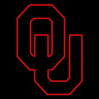 Oklahoma Sooners Primary Pres Logo NCAA Neon Sign Neon Sign