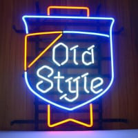 Old Style Beer Lager Neon Sign