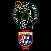 Old Style Boston Celtics NBA Beer Sign Neon Sign