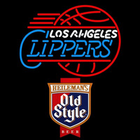 Old Style Los Angeles Clippers NBA Beer Sign Neon Sign