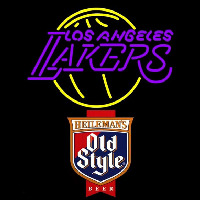 Old Style Los Angeles Lakers NBA Beer Sign Neon Sign