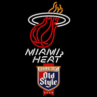 Old Style Miami Heat NBA Beer Sign Neon Sign