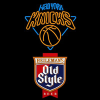 Old Style New York Knicks NBA Beer Sign Neon Sign