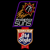 Old Style Phoenix Suns NBA Beer Sign Neon Sign