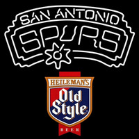 Old Style San Antonio Spurs NBA Beer Sign Neon Sign