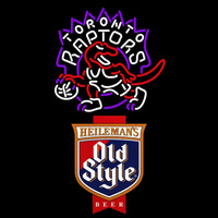 Old Style Toronto Raptors NBA Beer Sign Neon Sign