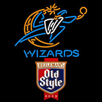 Old Style Washington Wizards NBA Beer Sign Neon Sign