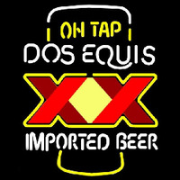 On Tap Dos Equis Beer Sign Neon Sign