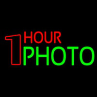 One Hour Photo Neon Sign