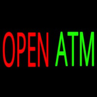 Open Atm 2 Neon Sign
