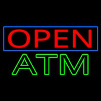 Open Atm Neon Sign