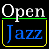 Open Jazz Neon Sign