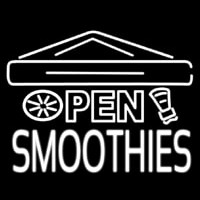 Open Smoothies Neon Sign