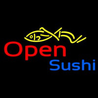 Open Sushi Neon Sign