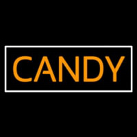 Orange Candy Neon Sign