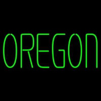 Oregon Ducks Wordmark Pres Logo NCAA Neon Sign Neon Sign