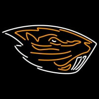 Oregon State Beavers Primary Pres Logo NCAA Neon Sign Neon Sign