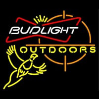 Outdoors Pheasant Hunting Bud Light Neon Sign