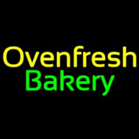 Oven Fresh Bakery Neon Sign
