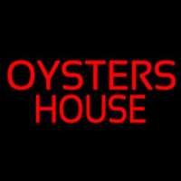 Oyster House Block Neon Sign