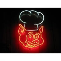 PIG CHEF Neon Sign