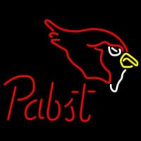Pabst Arizona Cardinals NFL Beer Neon Sign Neon Sign