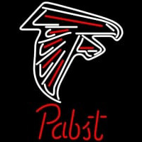 Pabst Atlanta Falcons NFL Beer Neon Sign Neon Sign